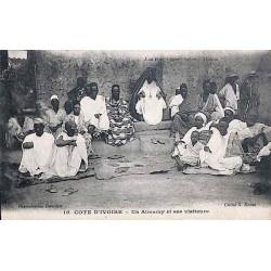 COTE IVOIRE - Un Almany et ses visiteurs
