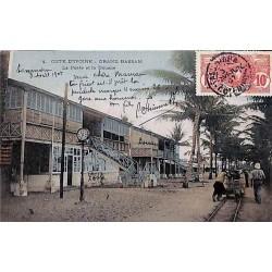 COTE D'IVOIRE - GRAND BASSAM - La Poste et la Douane
