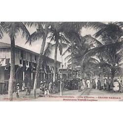Afrique Occidentale - Côte d'Ivoire - GRAND BASSAM Boulevard Treich-Laplène