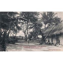 Afrique Occidentale- Côte d'Ivoire - EBOINDA sur la lagune Abi