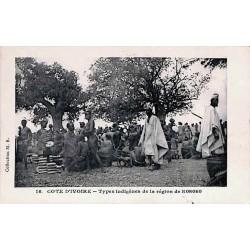 COTE D'IVOIRE - Types d'indigènes de la région de Koroko