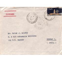 1957 IMPRIMES pour l'Inde