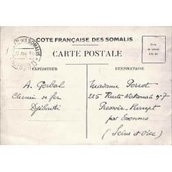 1941 Carte formulaire interzone pour correspondance familiale