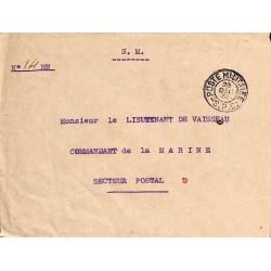 1939 POSTE MILITAIRE - S.P.C. -