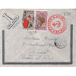 1939 POSTE MILITAIRE - S.P.A. - grands caractères