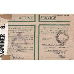 1942 FIELD POST OFFICE 596 PASSED BY CENSOR No 3267