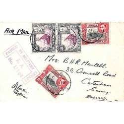 1943 E.A. A.P.O. 53 PASSED BY MILITARY CENSOR E.A. No 1/164