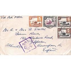 1944 E.A. APO 53 RAF CENSOR 138
