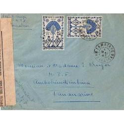 1945 TAMATAVE  MADAGASCAR censure F1