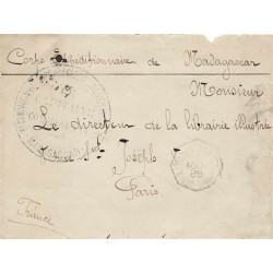 1895 - 3 e COMPAGNIE DU  CORPS DES DISCIPLINAIRES DES COLONIES . MADAGASCAR