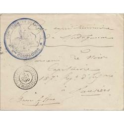 1895 200 ME REGIMENT D'INFANTERIE * 8 ME COMPAGNIE *