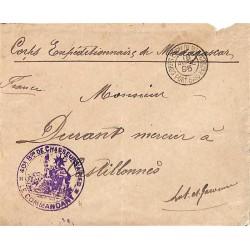 1895 40 è Bon DE CHASSEURS A PIED * LE COMMANDANT *