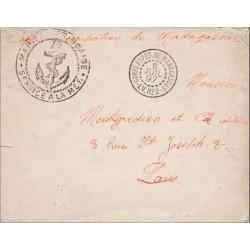 1897 MARINE FRANCAISE  * SERVICE A LA MER * Ancre
