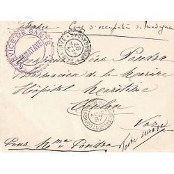 1897 SERVICE DE SANTE ~ TAMATAVE