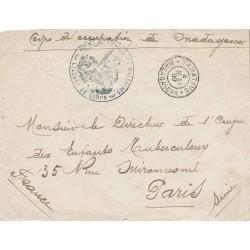 1900 1 ER  RT DE TIRAILLEURS MALGACHES LE CHEF DE CORPS