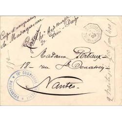1900 15 e COMPAGNIE DU GENIE ° MADAGASCAR °