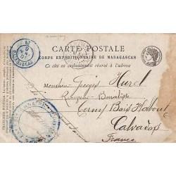 1901 Cachet NT MADAGASCAR