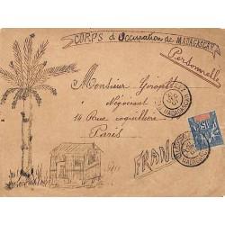 1901 DIEGO-SUAREZ MADAGASCAR