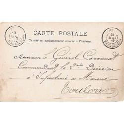 1902 Cachet RI MADAGASCAR