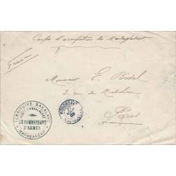 1903 TERRITOIRE SAKALAVE * MADAGASCAR * POSTE D'ANKALALOBE