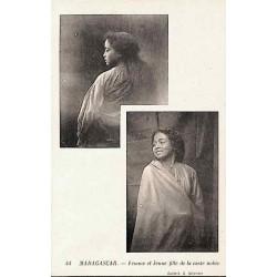 MADAGASCAR - Femme et jeune...