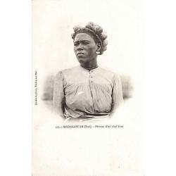 MADAGASCAR (Sud) Femme d'un...