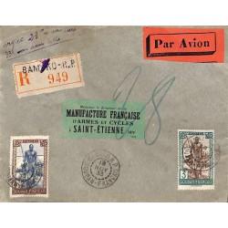 1933 Lettre avion...