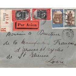 1934 lettre avion...