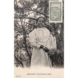 TANANARIVE Type de femme indigène