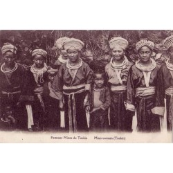 Femmes Miaos du Tonkin Miao women