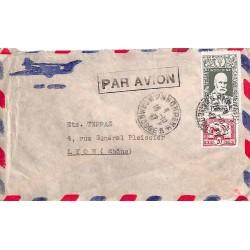 1947 lettre avion pour la...