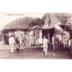DJIBOUTI - Paillotes Somalis
