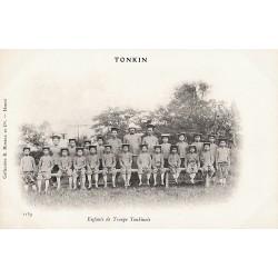 Enfants de troupe tonkinois