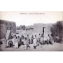 TOMBOUCTOU -  Section d'artillerie méhariste