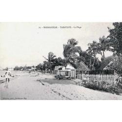 TAMATAVE - La plage