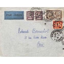 HAI-PHONG Daguin jumelé HAIPHONG TONKIN 1934