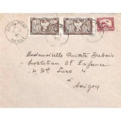 HANOI  AERO-PORT TONKIN 1951