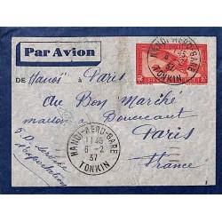 HANOI - AERO - GARE TONKIN 1937