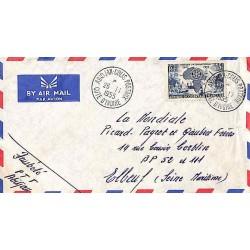 ABIDJAN - COLIS POSTAUX COTE D' IVOIRE 1955