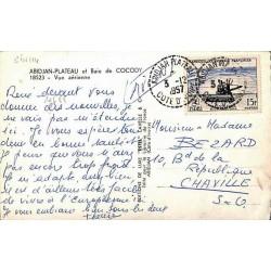 ABIDJAN PLATEAU COTE D ' IVOIRE 1957