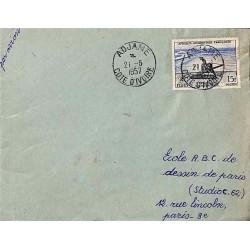 ADJAME COTE D'IVOIRE 1957