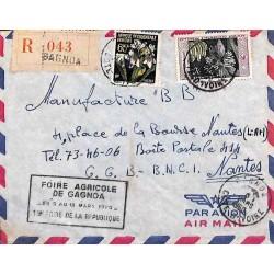 GAGNOA COTE D' IVOIRE 1960 FOIRE AGRICOLE DE GAGNOA