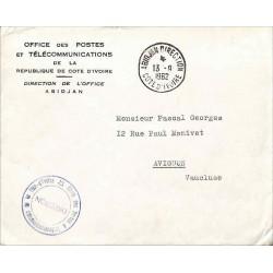 ABIDJAN DIRECTION COTE D' IVOIRE 1962