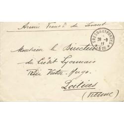 1921 SERVICE AUTOMOBILE  A.F.L. * ...* caviardé