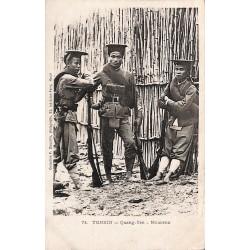 TONKIN - Quang-Yen - Miliciens