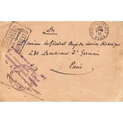 1926 ECOLE MILITAIRE DE DAMAS * LE COMMANDANT