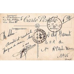1929 POSTE AUX ARMEES * 615 * Alep