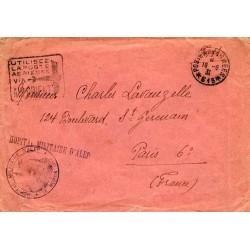 1931 HOPITAL MILITAIRE D'ALEP  LE MEDECIN CHEF