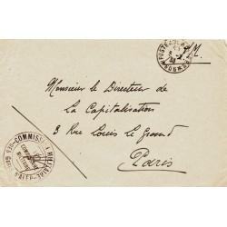 1933 COMMISSION MILITAIRE - DES GARES D'ALEP