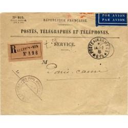 1935 POSTES AUX ARMEES *615* LE CHEF DE SERVICE